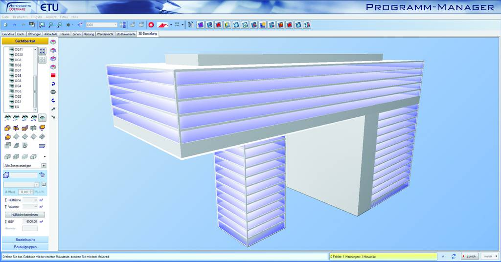 Building Information Modeling - BIM modern office